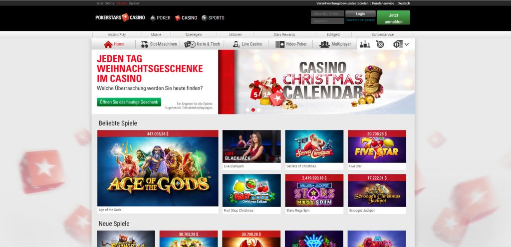 PokerStars Casino DE